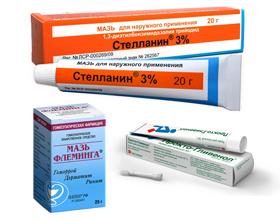 Эффективные и недорогие мази для лечения геморроя: список и описание