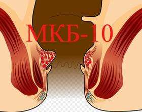 Геморрой мкб 10: классификация видов геморроя