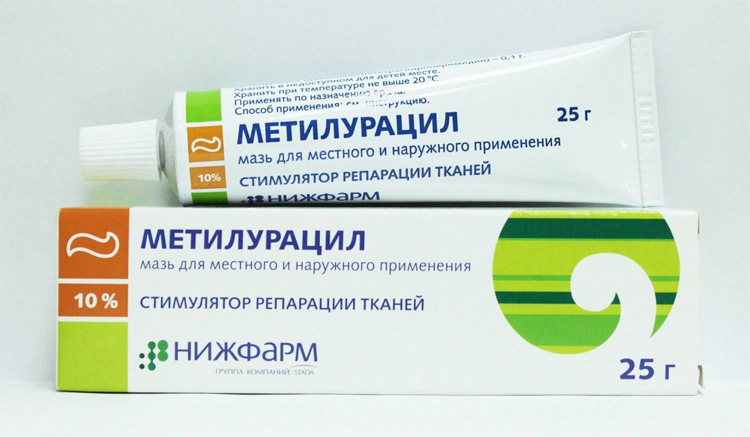 Метилурациловая 1 % мазь