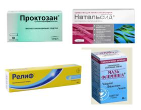 Эффективные препараты от геморроя и трещин: список и описание